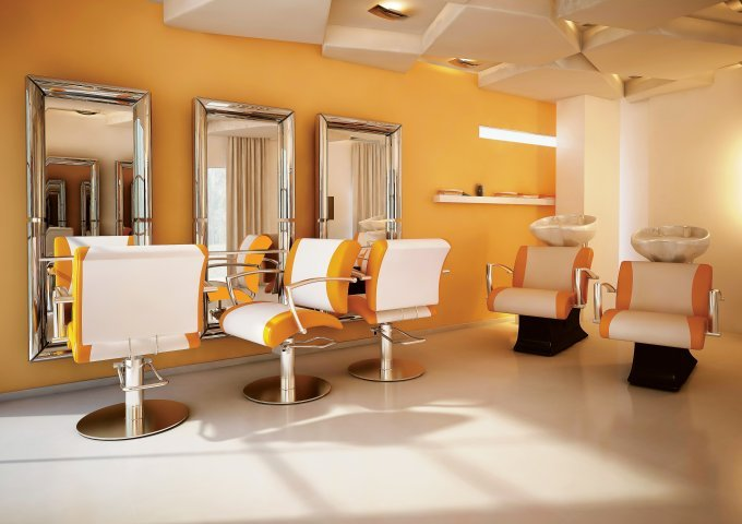 proffesional equipment for hair salon